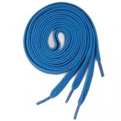 Плоские широкие шнурки (Blu)