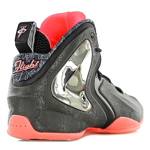 Nike Lil Penny Posite PRM QS Gumbo League All Star: вид сзади