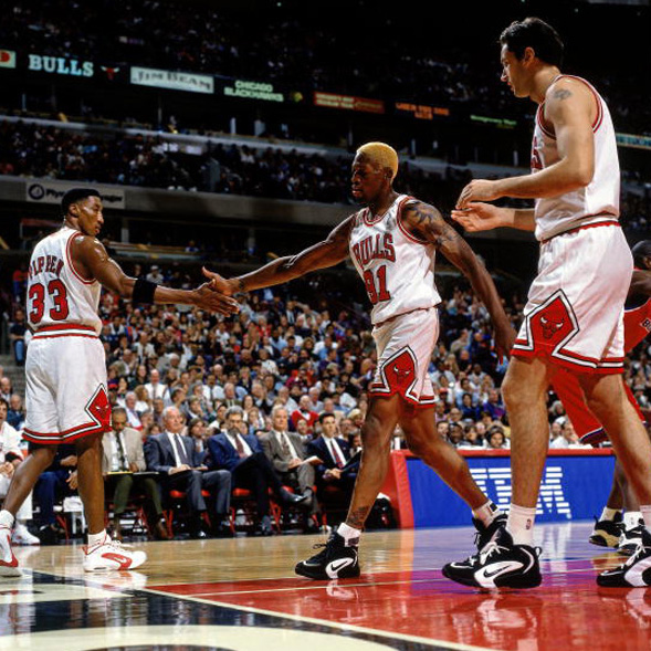 Scottie Pippen, Dennis Rodman - Nike Air Way Up